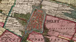 Delft - Kruikiuskaart